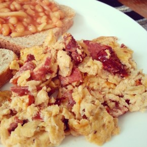 Sunday Scrambled Eggs