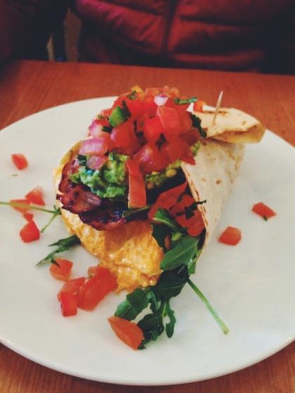 Breakfast Burrito at Las Chicas