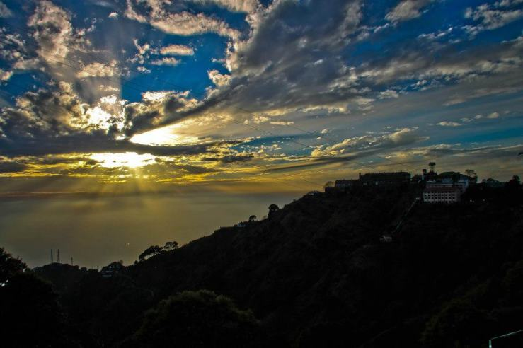 Sunset in Kasauli Picture Credit: Arjun Parmar