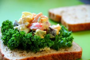 Creamy Avocado Egg Salad