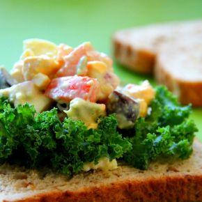 Creamy Avocado EggSalad