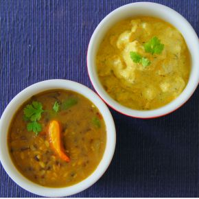 Dal, Palda, and Rice