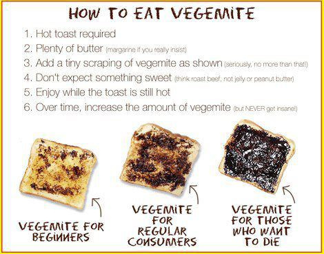 Vegemite Instructions